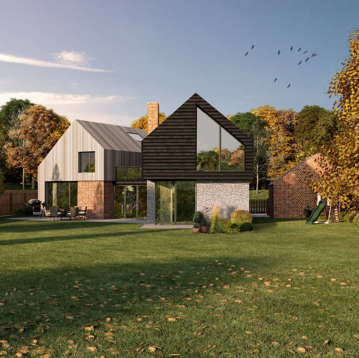 New House Home Design Extension Architect